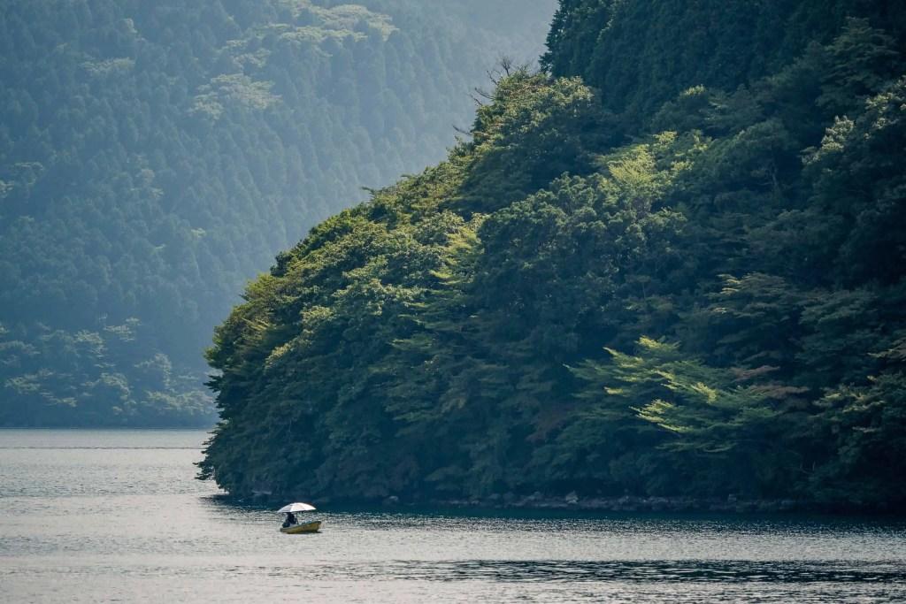 Japon, Hakone, Ashi, itinéraire