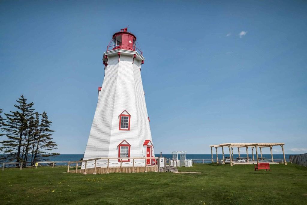 l'ile du Prince Édouard, Prince Edward Island, PEI, Canada, plage, phare,