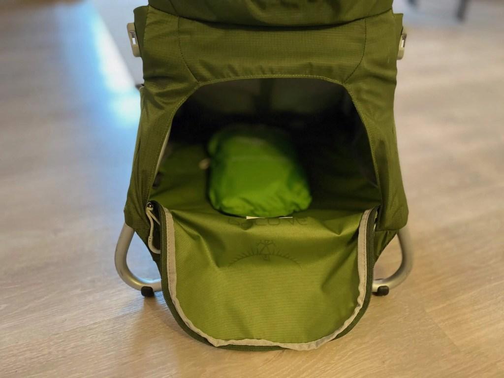 sac porte-bébé, Osprey Poco AG Plus, test matériel, sac à dos bébé, randonner bébé, voyage bébé