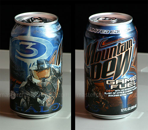 Halo Mountain Dew Master Chief Collector