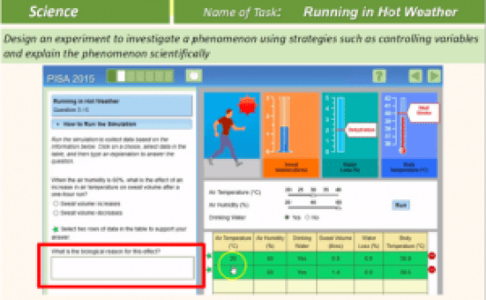 Sample question from PISA study. Image from OECD.org