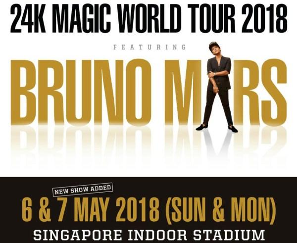 Bruno Mars 2018