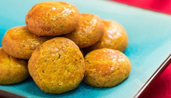 Nonya Laksa cookies from HarriAnns