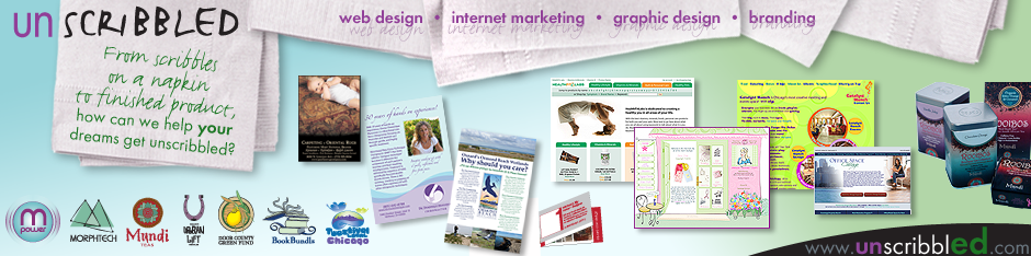 Unscribbled Web Design - Internet Marketing - Graphic Design - Branding