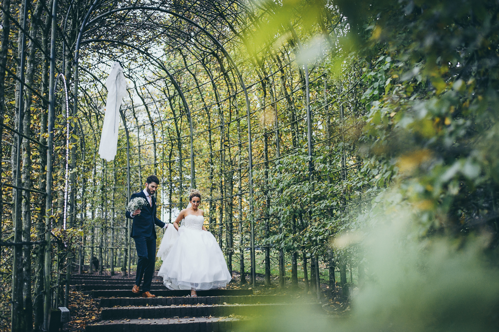 Hallowe'en Wedding at Alnwick Gardens Wedding Photographer Newcastle