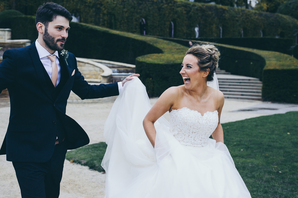 Alnwick Gardens Wedding