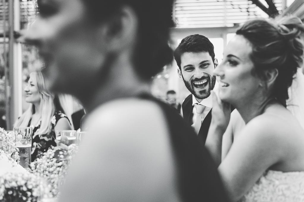 Wedding Photographer Newcastle Speech Time
