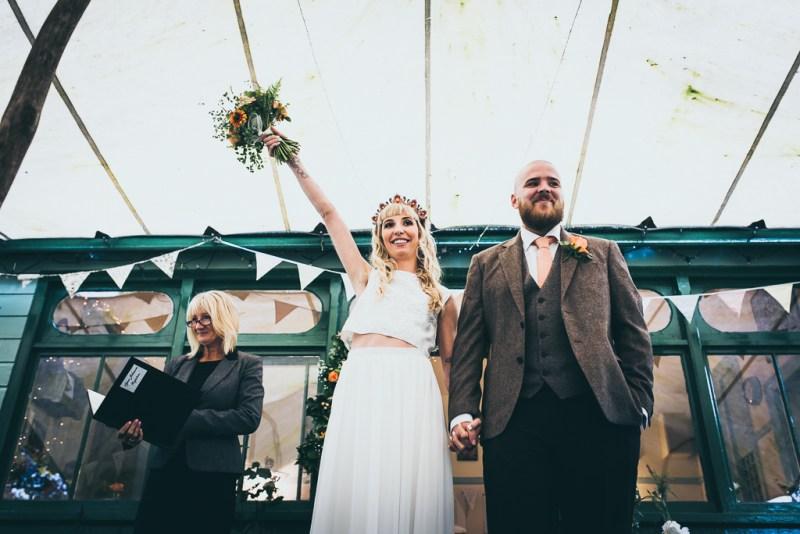 the garden station wedding