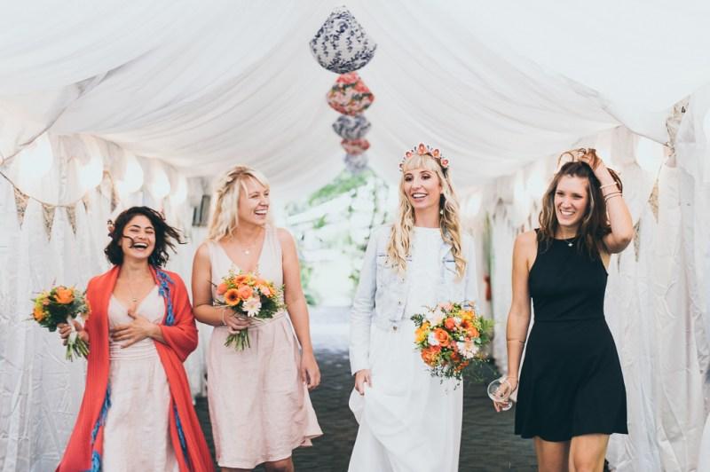girl gang bridesmaids