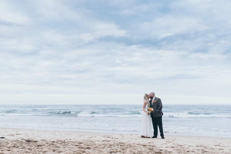wedding portraits tynemouth beach