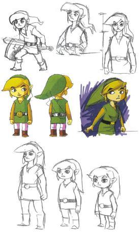 Zelda The Wind Waker Beta Gamecube Unseen64