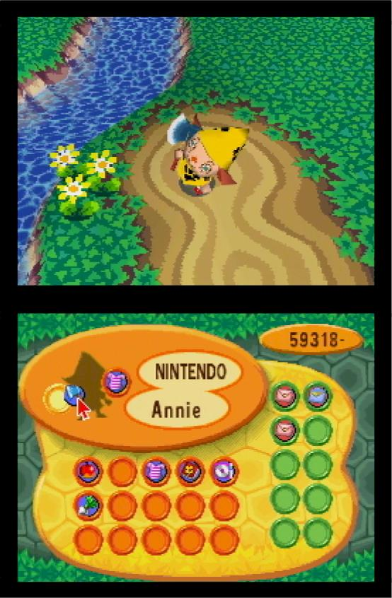 Animal Crossing Wild World DS Beta Unseen64
