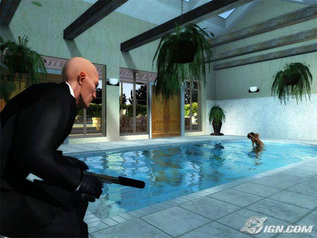 Hitman Blood Money PS2 XBOX X360 Beta Unseen64