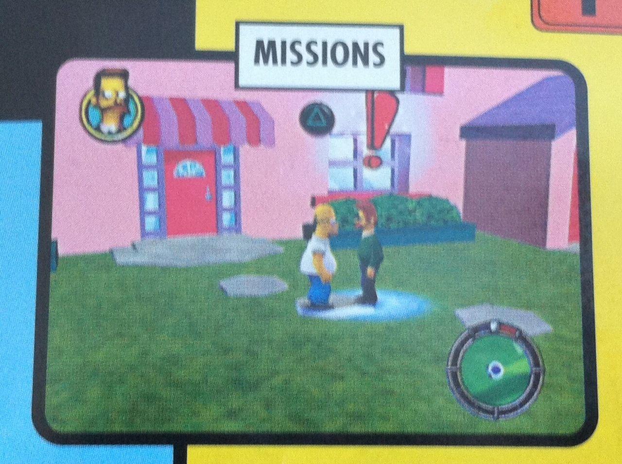 Simpsons Hit Amp Run Beta PS2 XBOX GameCube Unseen64