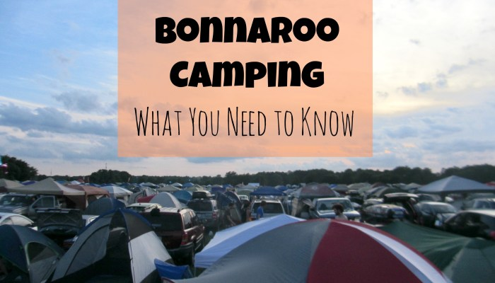 Bonnaroo Camping: What You Need to Know