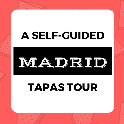 Madrid Tapas Self-Guided Tour