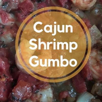 Cajun Shrimp Gumbo in a Crockpot
