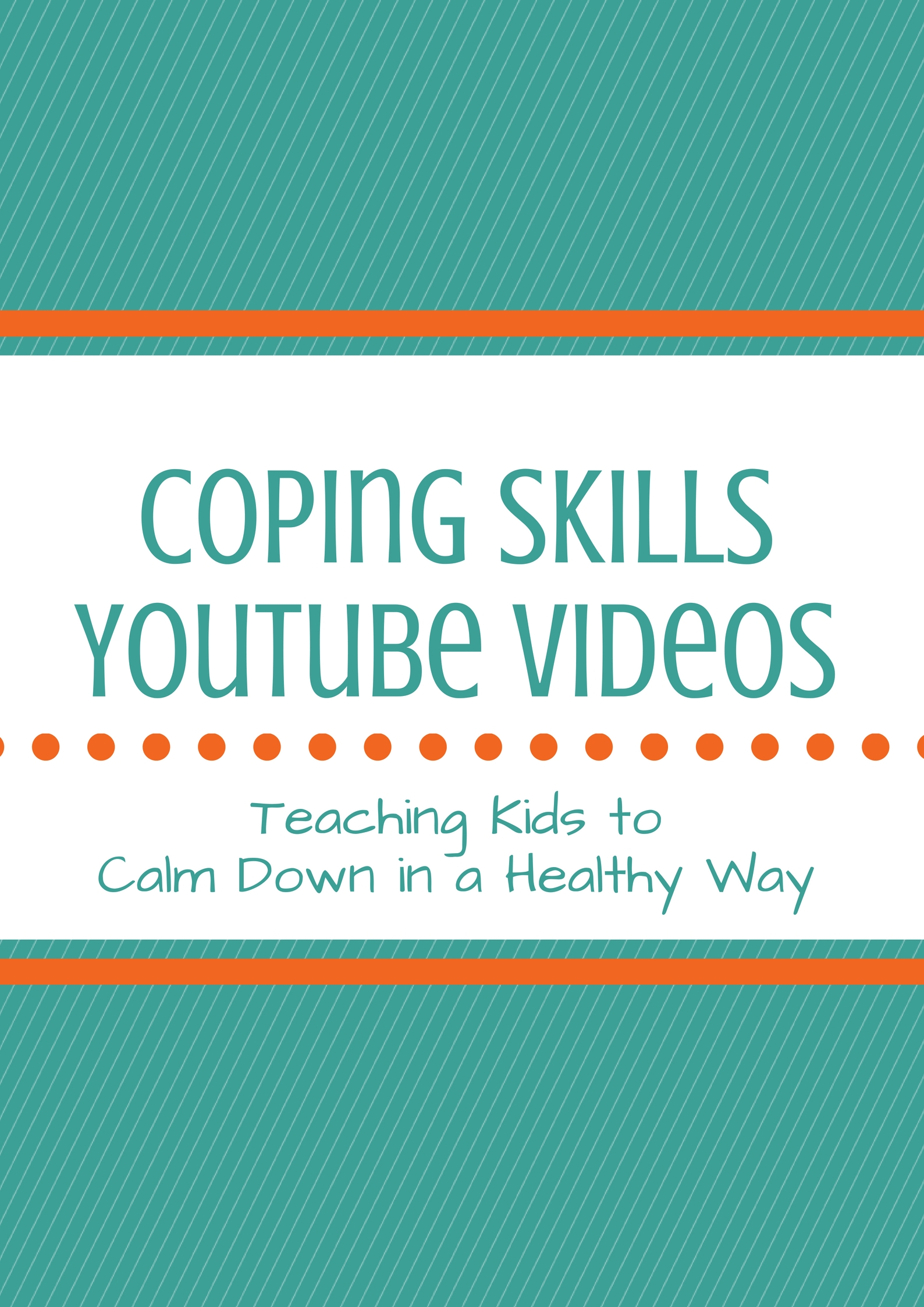 Coping Skills Videos Teaching Kids To Calm Down In A