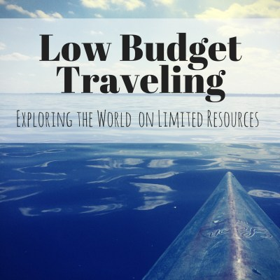 low budget traveling