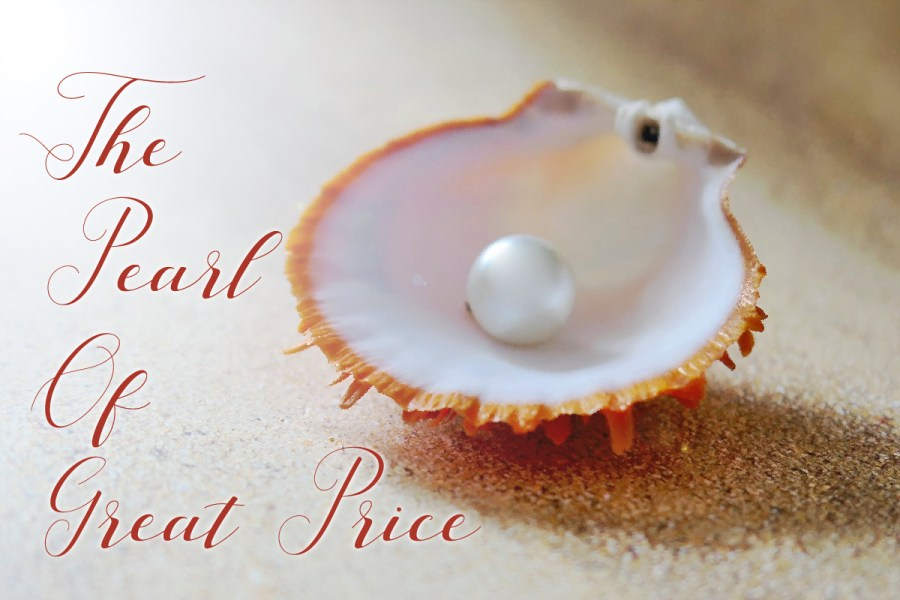 The Pearl of Great Price.... Original Image by moritz320 from Pixabay