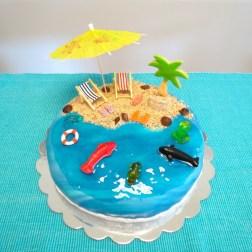 Strand-Torte