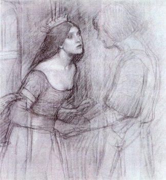 A_Female_Study_-_John_William_Waterhouse