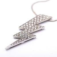 Collier pendentif - Or et diamant