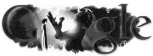 Doodle du 95ème anniversaire de la naissance d'Edith Piaf