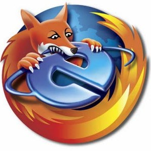 Firefox mange Internet Explorer en Europe