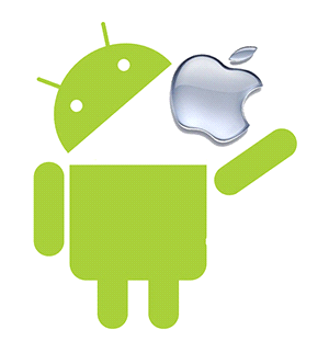 Android croque Apple