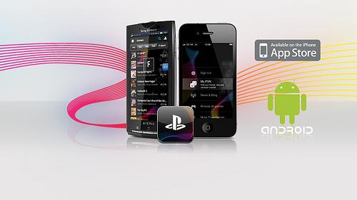 L'application Playstation disponible sur iPhone et Android