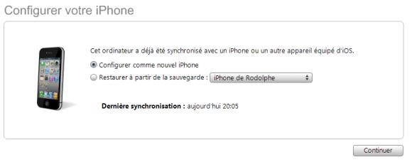 Pas à pas du jailbreak unthetered de l'iOS 4.3.1 avec Redsn0w