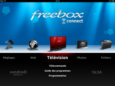 Freebox Connect disponible fin avril sur iPad