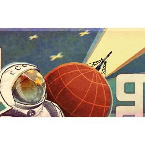 Google fête le 50ème anniversaire du 1er homme dans l'espace