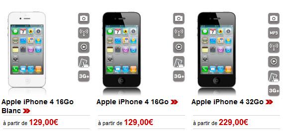 iPhone 4 blanc - Virgin Mobile