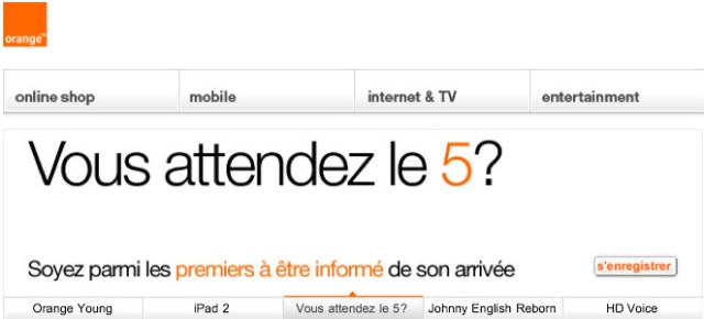 iPhone 5 - Orange annonce sa sortie