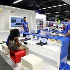 """Google ouvre sa 1ère boutique """"ChromeZone"""""""