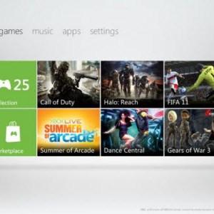 Le futur dashboard de la Xbox 360 se dévoile en vidéo