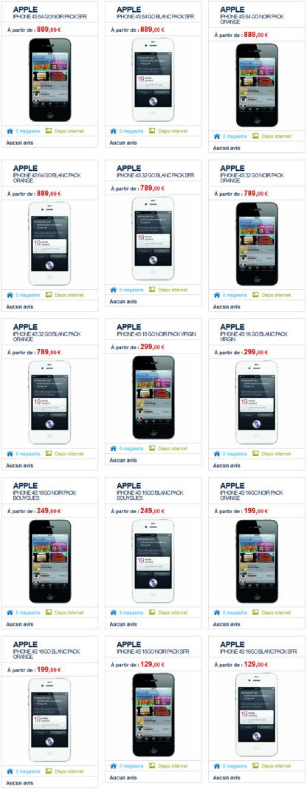 iPhone 4S - The Phone House annonce sa disponibilité