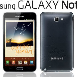 Samsung Galaxy Note sera disponible le 2 novembre en France