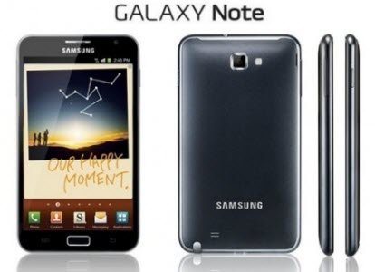 Le Galaxy Note fait sa pub sur TF1