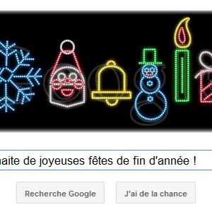 Google vous souhaite de joyeuses fêtes de fin d'année !