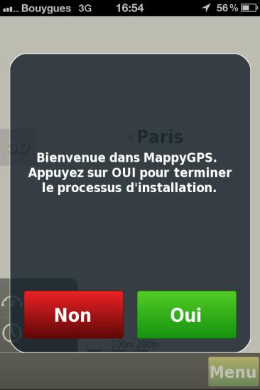 Installation MappyGPS Free