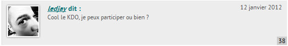 Tirage Novodio RingTone Slim - commentaires Ma2thieu
