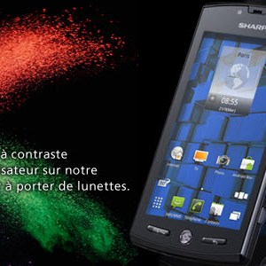 Test du Smartphone Sharp Aquos Phone SH80F 3D