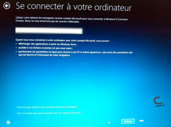 Windows 8 réseau wifi 3