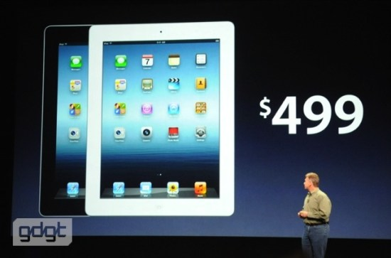 prix apple nouvel iPad