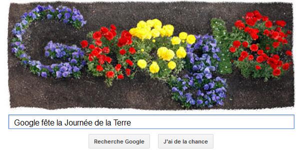 Google fête la Journée de la Terre