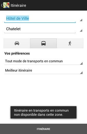 Google Maps intègre maintenant les itinéraires et horaires de la RATP