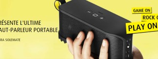 #IFA2012 - Jabra Solemate, un haut-parleur portable Bluetooth